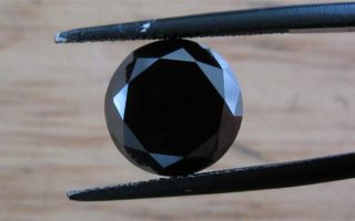 Черный бриллиант — значение камня и его магические свойства