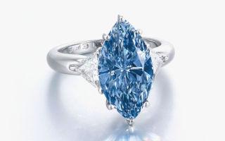 Christie's продали голубой бриллиант за 11,8 миллиона долларов