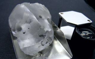 В Африке нашли огромный алмаз массой 910 карат