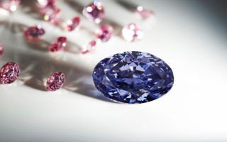 Уникальный фиолетовый бриллиант будет выставлен на продажу