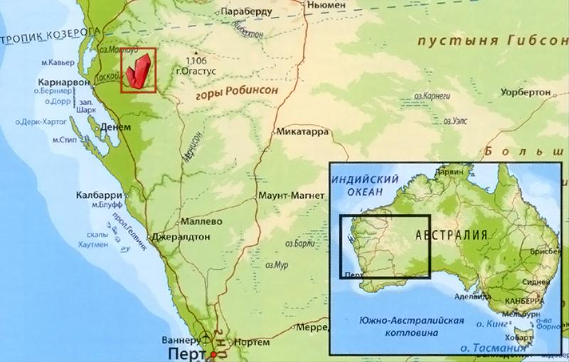 Месторождения Мукаита