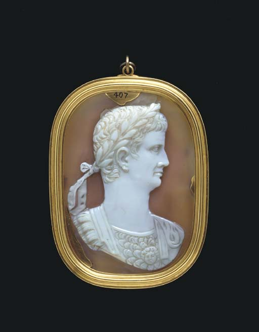 портрет императора Клавдия