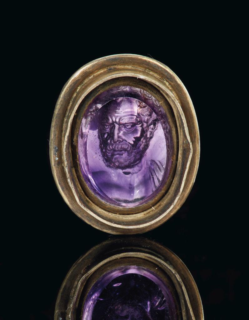 Римский аметистовый перстень
