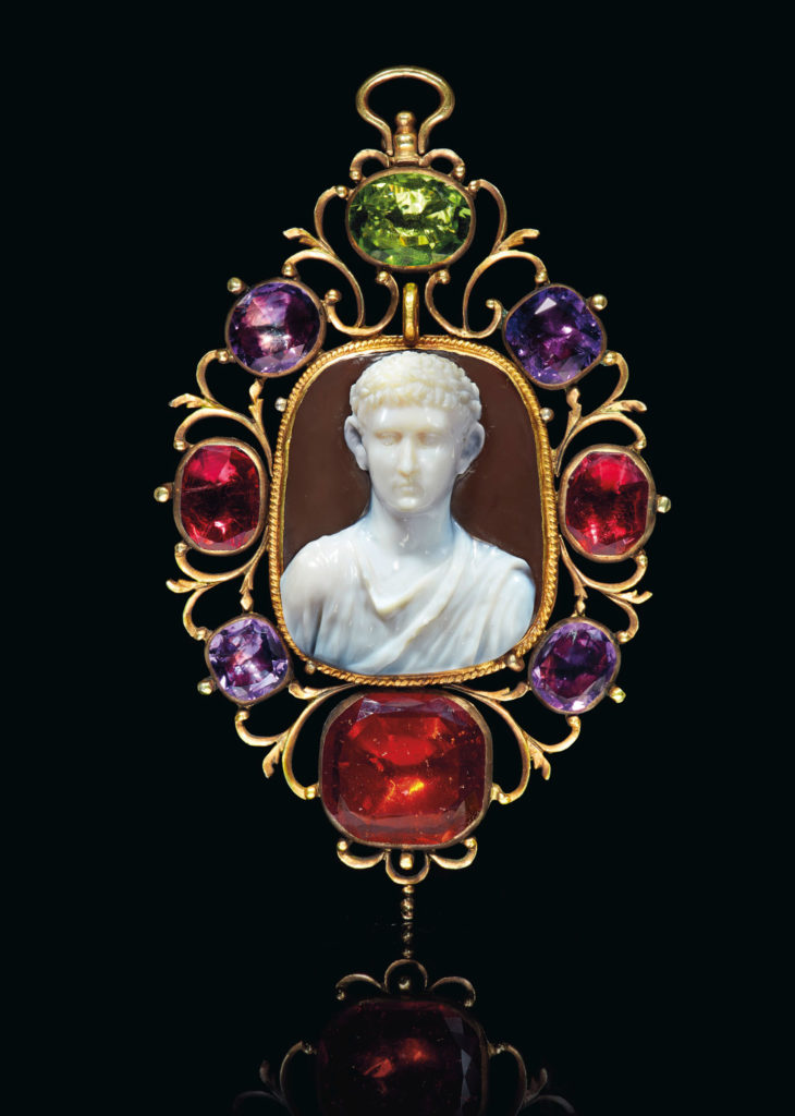 Римская Камея принц Джулио-Клавдиев